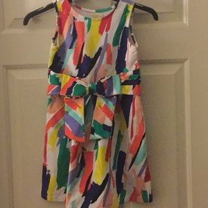 Kate Spade Girls Brushstroke Dress